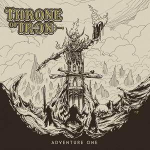 THRONE OF IRON - Adventure One Black Vinyl