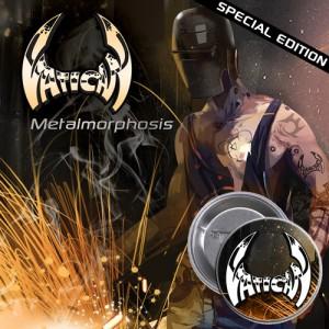 VATICAN - Metalmorphosis + Special Pin