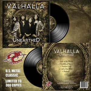 VALHALLA - Unearthed Vinyl (Pre-Order)