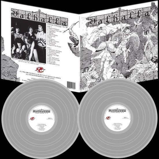 VALHALLA - Ultimate Anthology 84-86 Silver Vinyl LP
