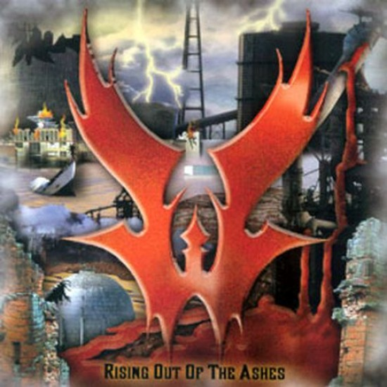 WARLORD - Rising Out Of The Ashes CD