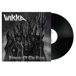 WIKKA - Beware Of The King Black Vinyl