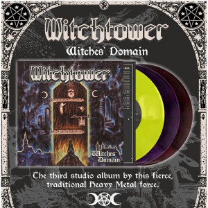 WITCHTOWER - Witches' Domain Vinyl