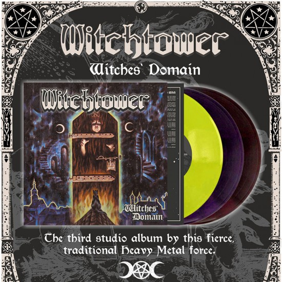 WITCHTOWER - Witches' Domain Vinyl LP