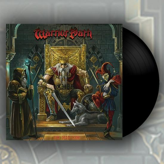 WARRIOR PATH - The Mad King Black Vinyl Gatefold LP